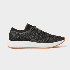 ZARA Black technical fabric sneakers